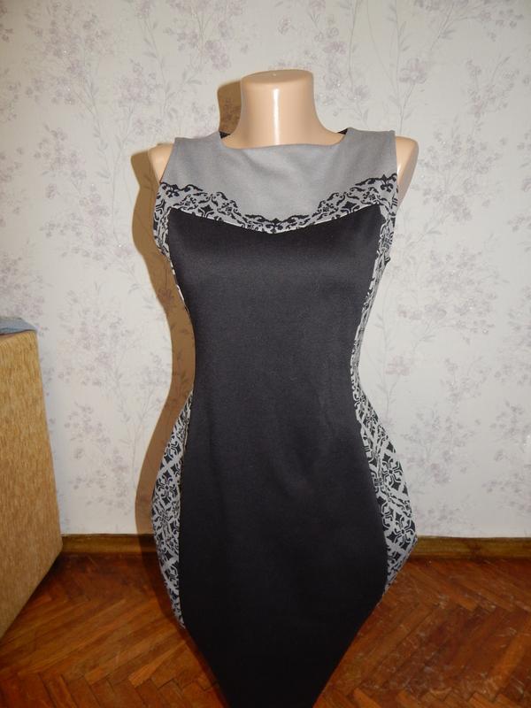 H&m платье шикарное стильное модное рs