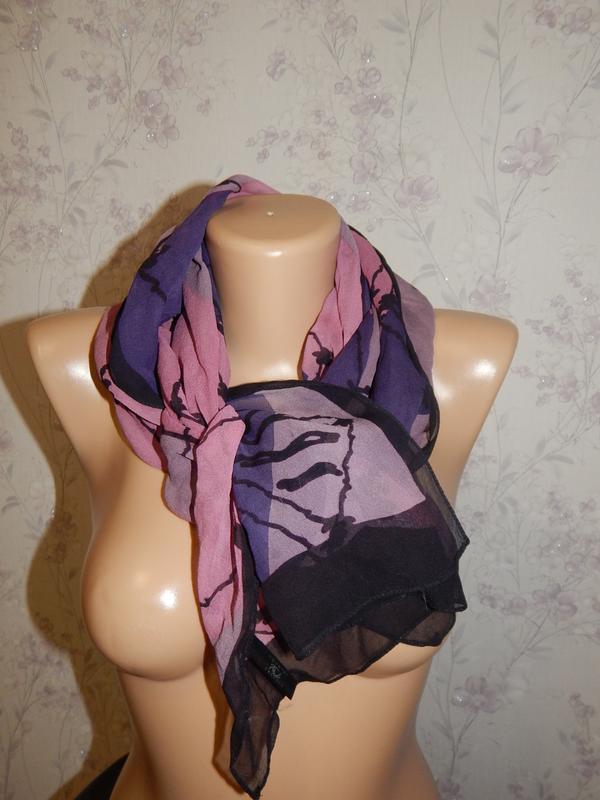 Country casuals шарфик 100% шёлк стильный модный