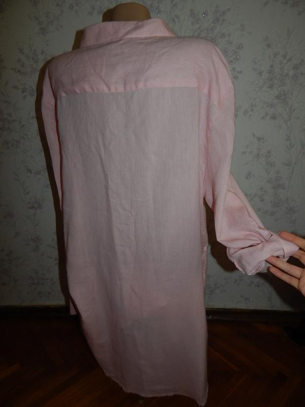 Atmosphere халат-рубашка трикотажный домашний р20 большой размер - Фото 2