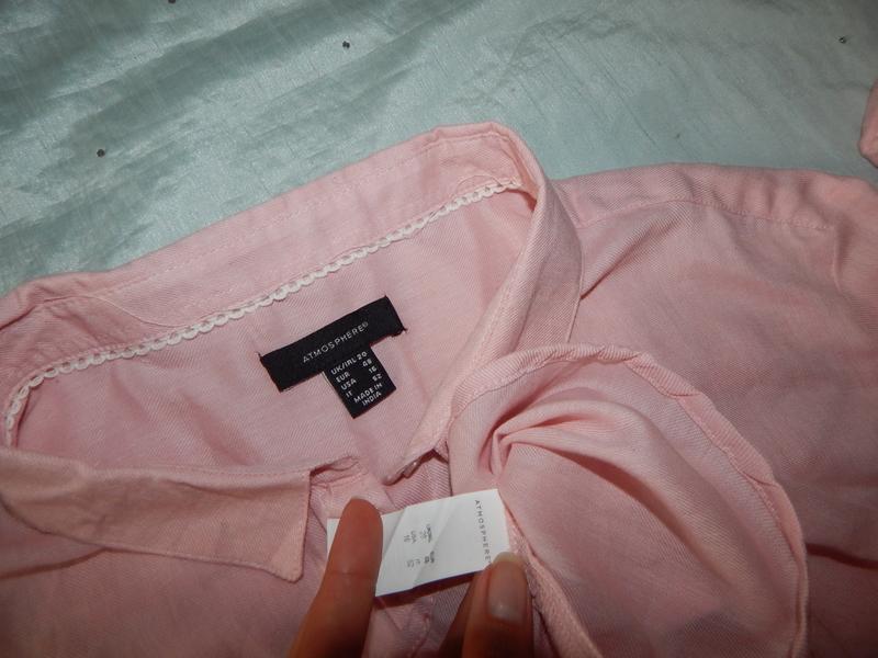 Atmosphere халат-рубашка трикотажный домашний р20 большой размер - Фото 4