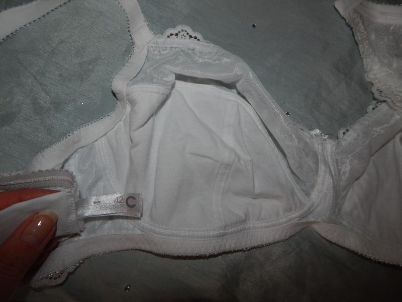 Bhs бюстгальтер белый р42с 95с - Фото 4