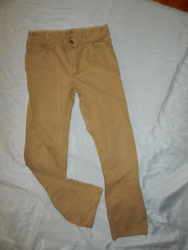 Denim co джинсы slim на мальчика 11-12 лет
