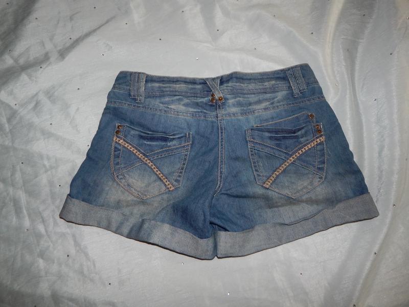 Dorothy perkins шорты джинсовые стильные модные р8 - Фото 2