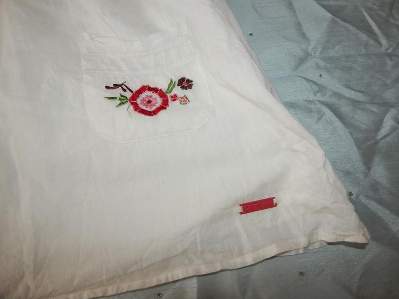 Crafted сарафан котоновый летний лёгкий стильный модный белый р8 - Фото 2