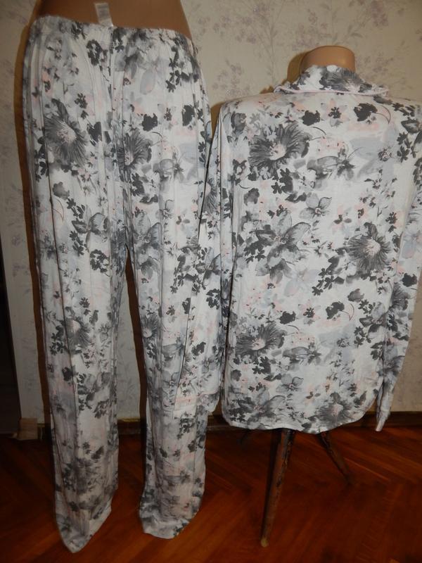 Love to lounge пижама вискозная рубашка со штанишками р12-14 - Фото 2