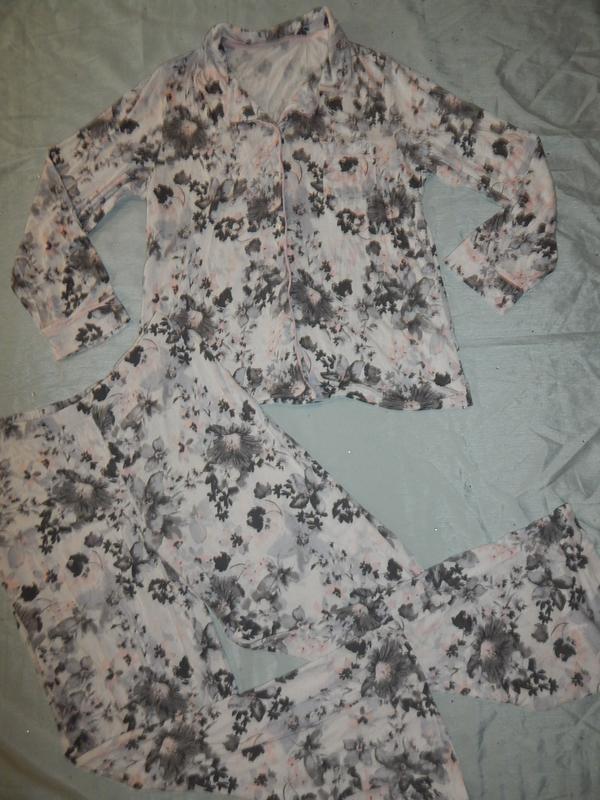 Love to lounge пижама вискозная рубашка со штанишками р12-14 - Фото 4