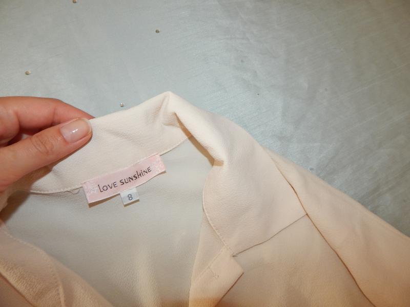 Love sun shine блузка-рубашка туника шифоновая стильная модная р8 - Фото 4