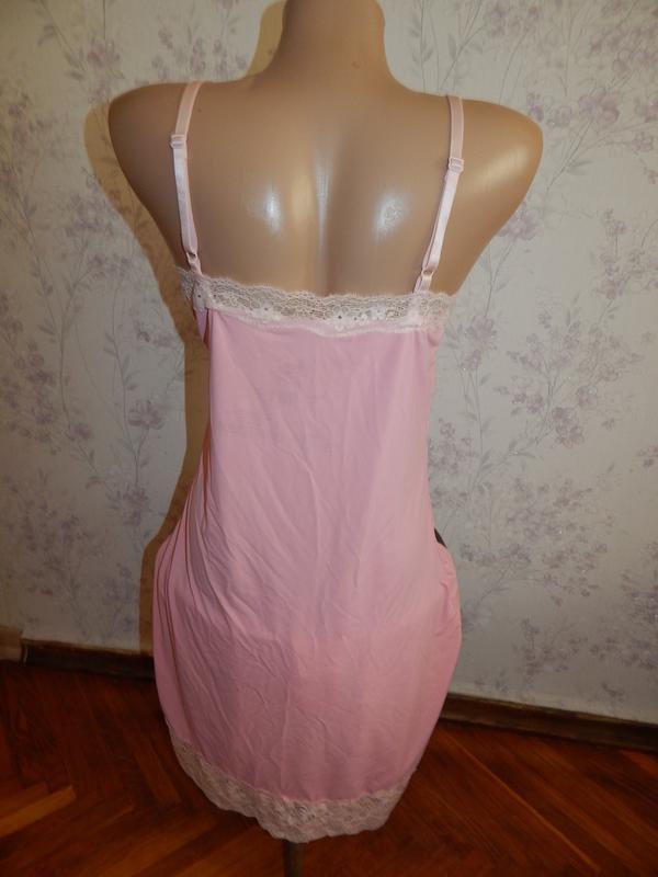 Love to lounge ночнушка эластичная пеньюар розовый р12 - Фото 2