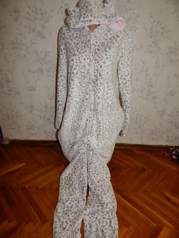 Слип пижама плюшевая  кигурими домашний костюм человечек р м