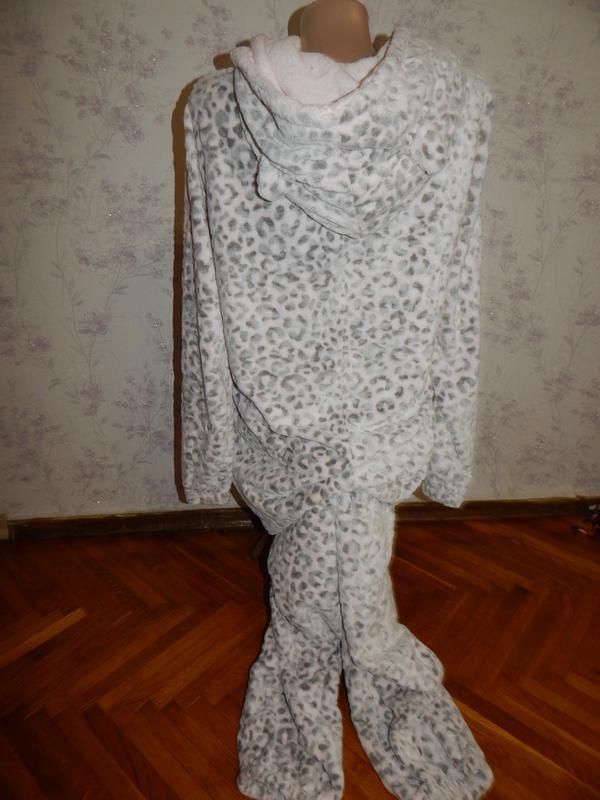 Слип пижама плюшевая  кигурими домашний костюм человечек р м - Фото 2