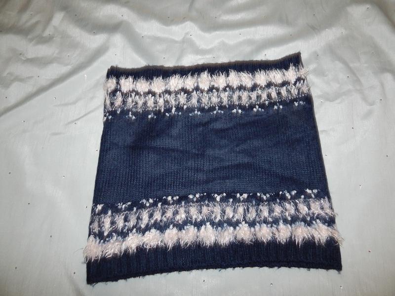 Нереально красивый шарф, хомут, снуд женский. - Фото 2