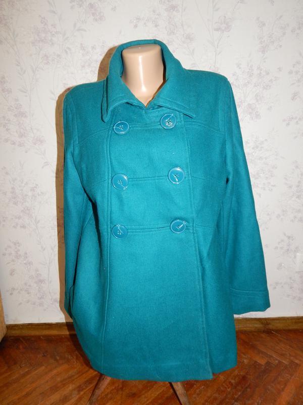Grabal alok пальто демисезонное стильное модное р16