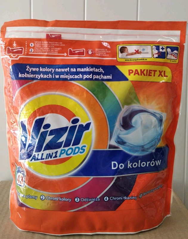 Vizir All in 1 PODS капсули для прання / капсулы для стирки