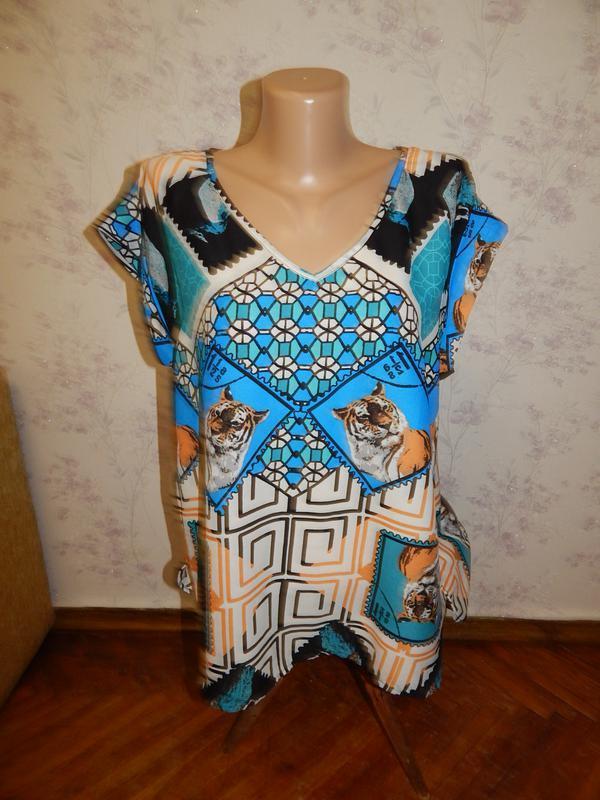River island блузка шифоновая стильная модная р12