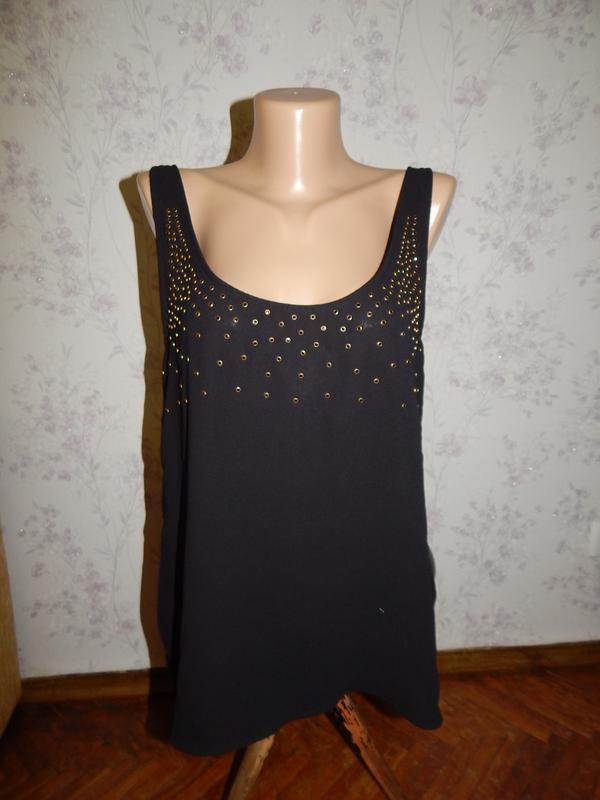 Zara блузка шифоновая стильная модная рl