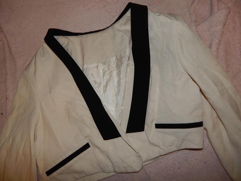 River island болеро пиджак короткий жакет р 12