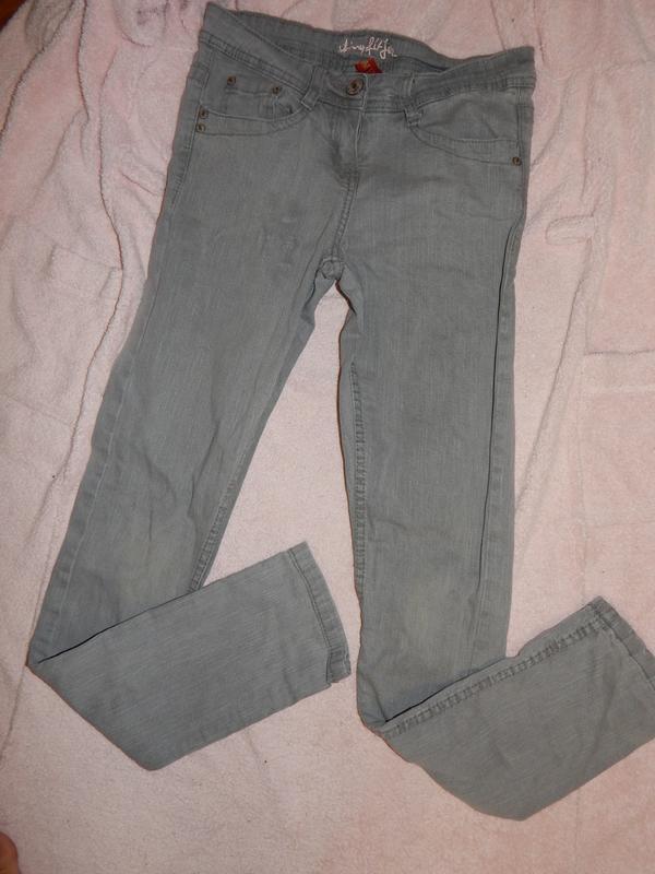 Denim co джинсы модные р 8 skinny