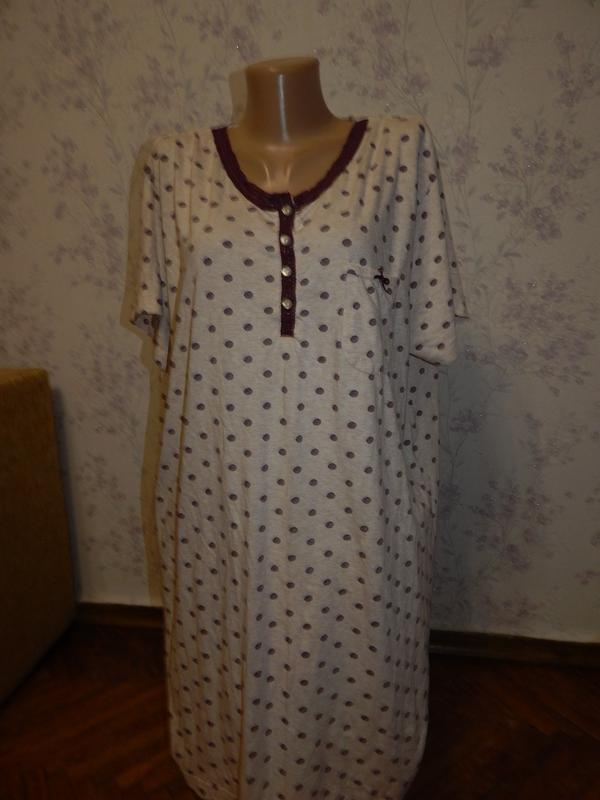 Love to lounge ночнушка трикотажная, домашнее платьеце, р22-24...