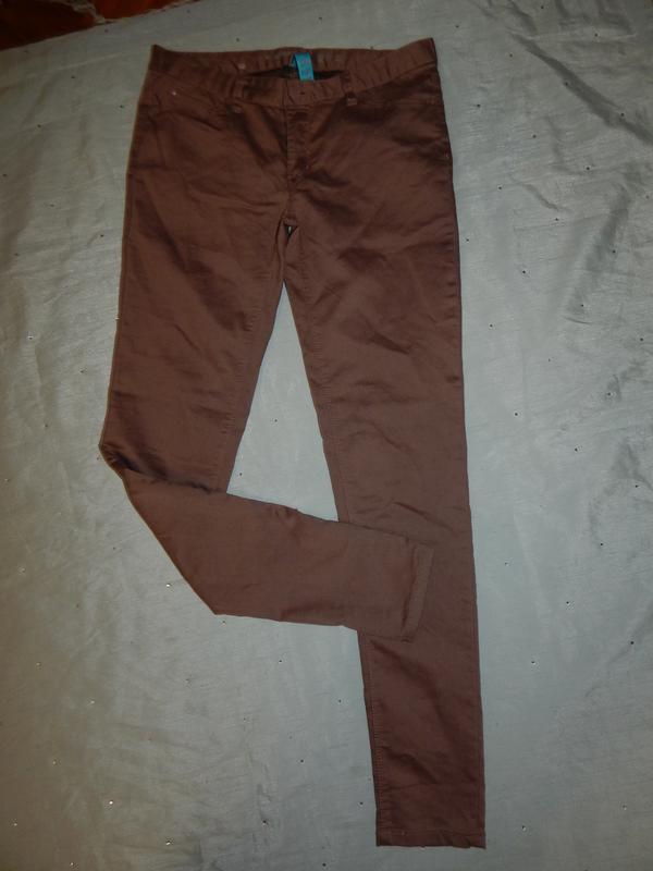 Джинсы skinny стильные модные р18 большой размер