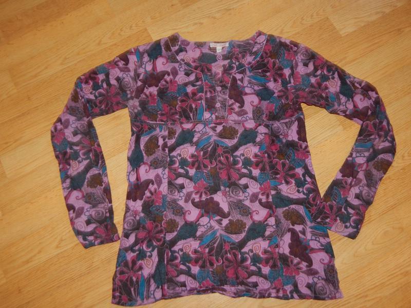 Блуза-туника на девочку 12-13 лет