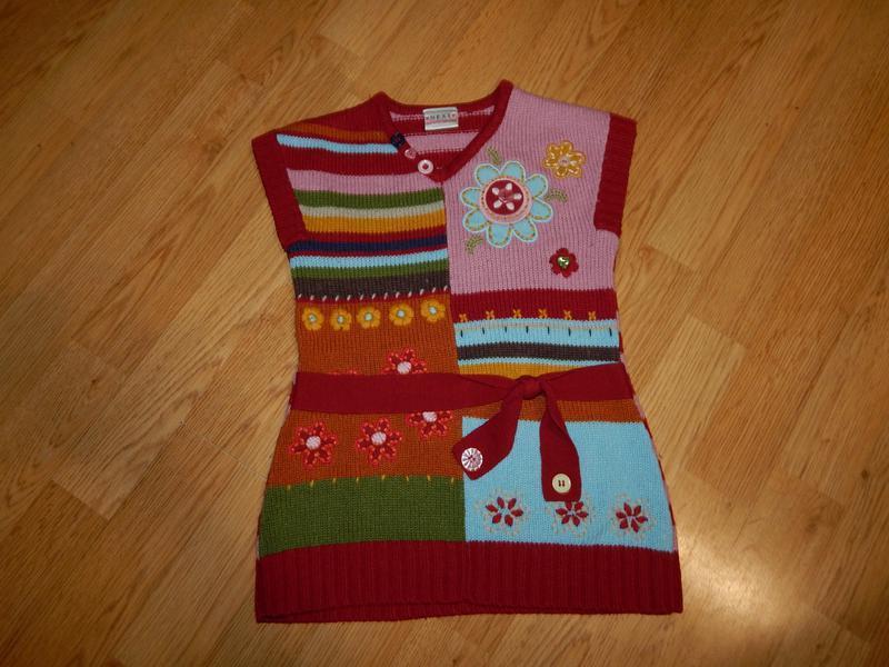 Платье-туника на девочку 2-3 года