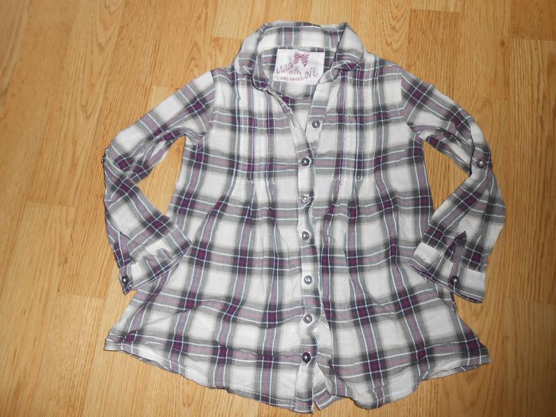 Рубашка на девочку 3-4 года   yd