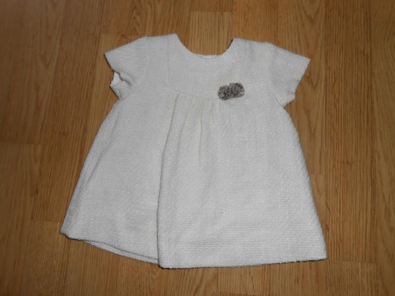 Платье на малышку 3 месяца.