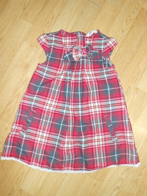 Платье на девочку 3-4 года   h & m