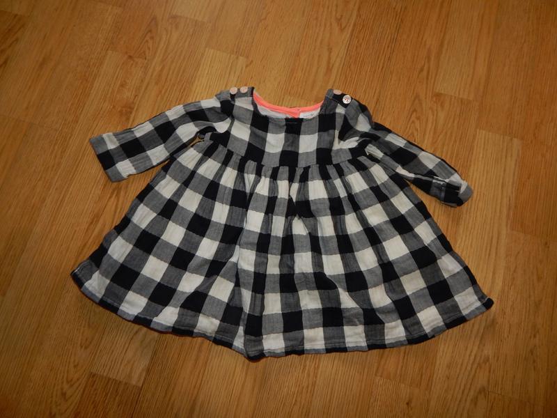 Платье на малышку 3-6мес