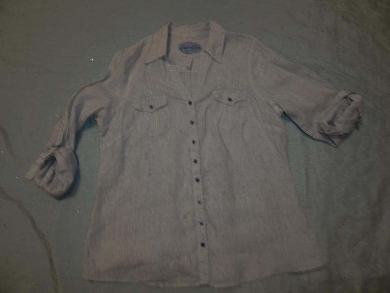 Marks&spencer блузка льяная стильная модная р16