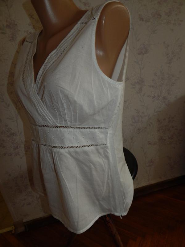 Next блузка батистовая стильная модная р14 - Фото 2