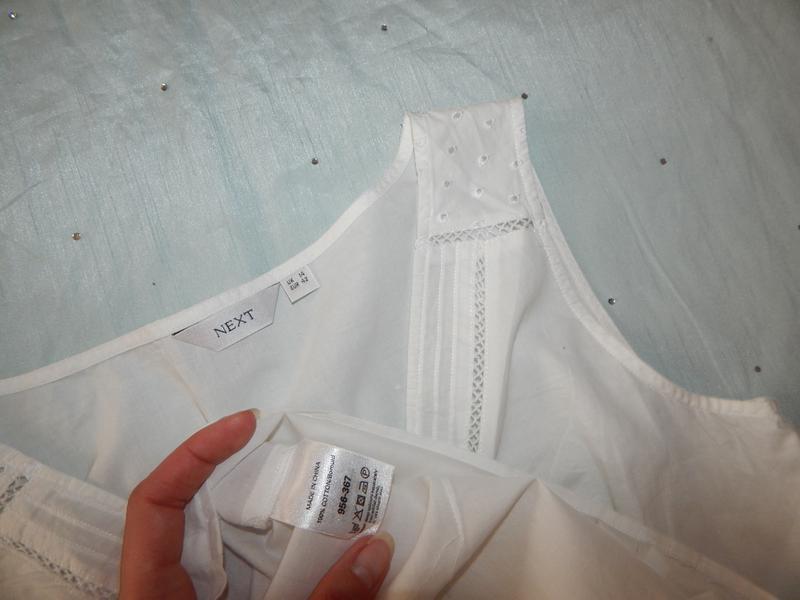 Next блузка батистовая стильная модная р14 - Фото 5