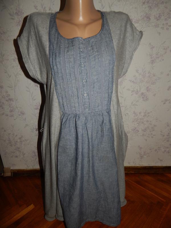 Next платье-туника трикотажное стильное модное р12