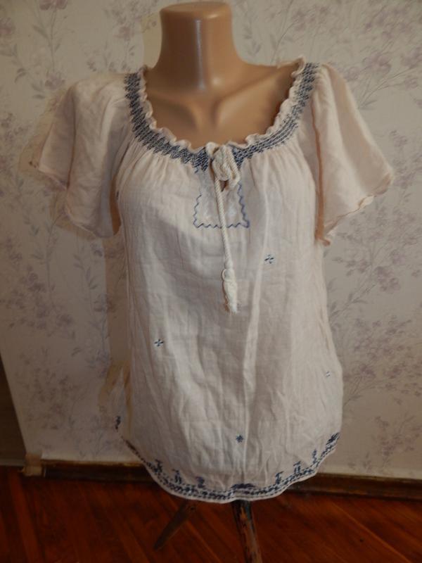 Marks&spencer блузка трикотажная стильная модная р10