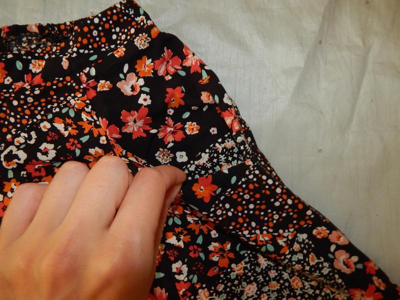 F&f юбка вискозная в цветах стильная модная р6 - Фото 2