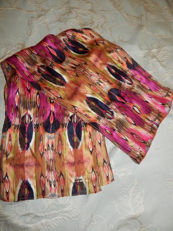 Matthew williamson шарф тонкий стильный модный butterfly
