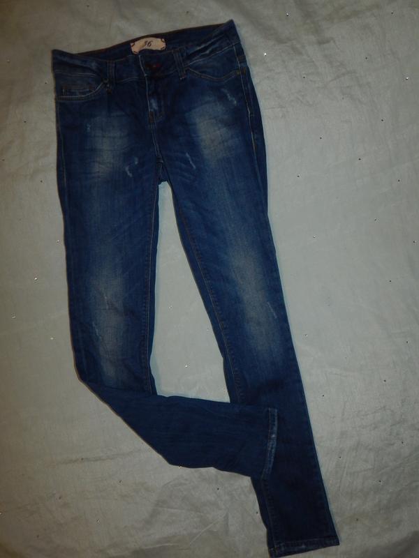 Zara джинсы super skinny стильные модные рs