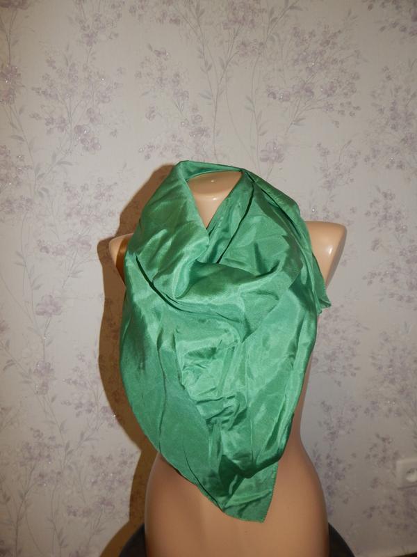 Платок шёлковый стильный модный