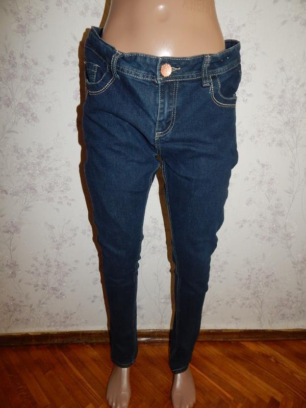 Denim co джинсы super skinny стильные модные р14