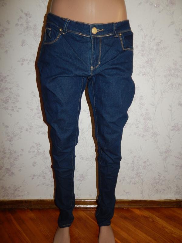 Denim co джинсы skinny стильные модные р12
