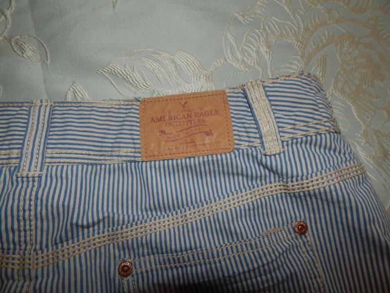 American eagle юбка джинсовая стильная модная р10 - Фото 2