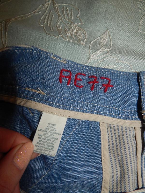 American eagle юбка джинсовая стильная модная р10 - Фото 3