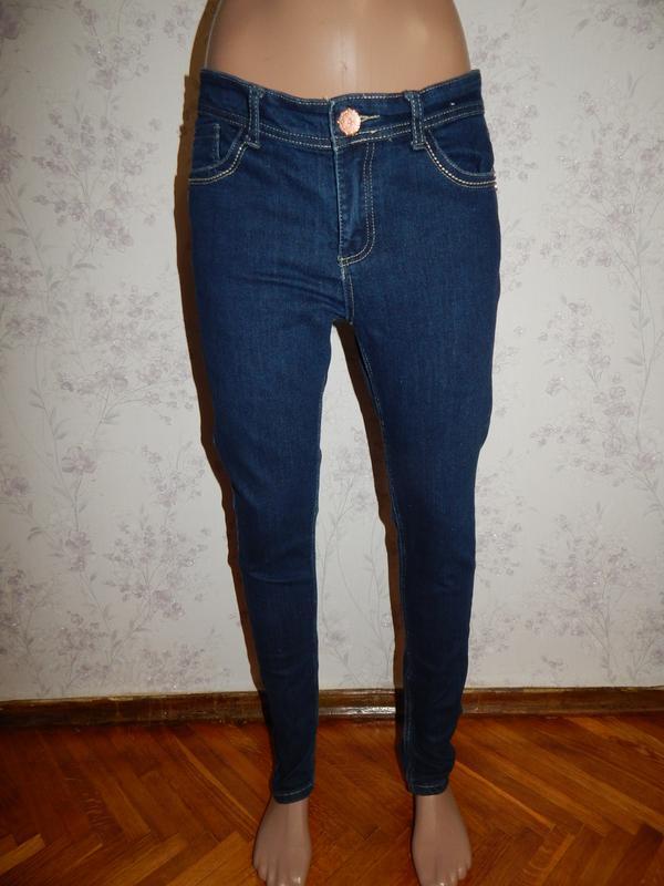 Denim co джинсы super skinny стильный модные р12