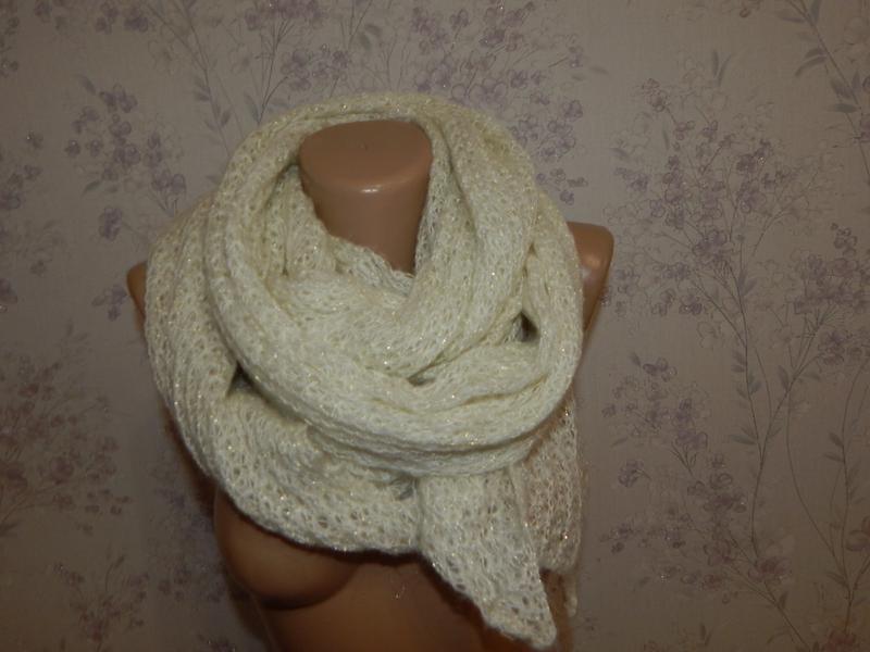Matalan шарф вязаный стильный модный
