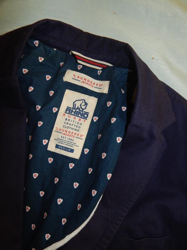 Rhino пиджак, жакет стильный модный рм - Фото 5
