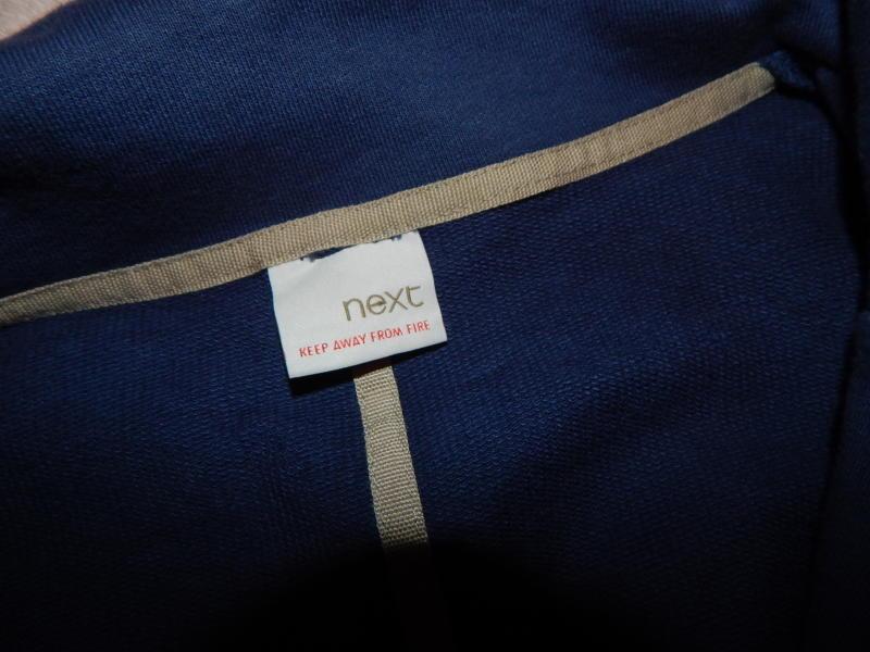 Next пиджак жакет модный трикотажный р 8