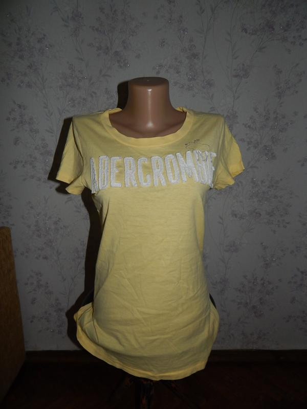 Abercrombie & fitch футболка стильная модная рl