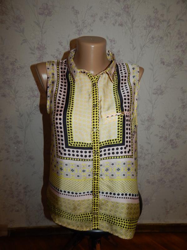 River island блузка стильная модная р10