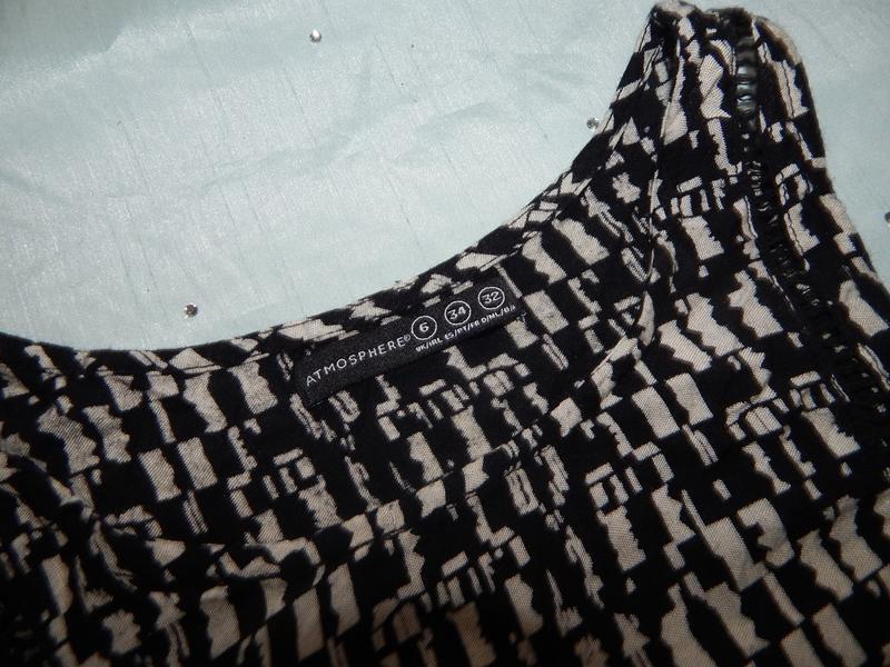 Atmosphere платье вискозное стильное модное р 6 - Фото 2