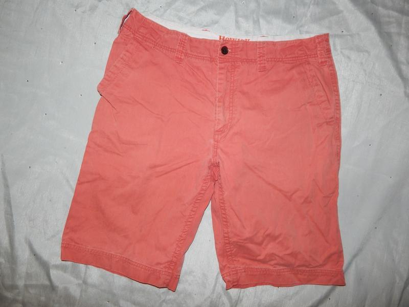 Howick шорты мужские стильные модные кораловые р36